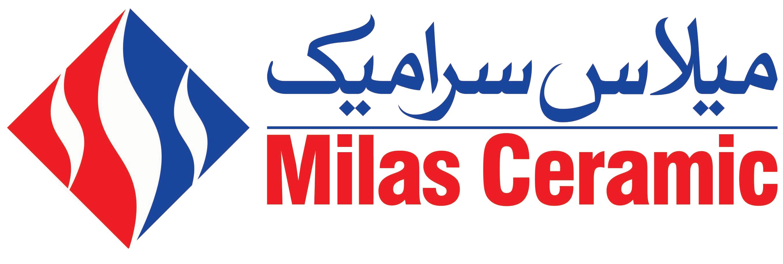 لوگوی شرکت میلاس سرامیک